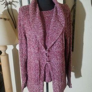 Modern soul XL 2 piece sweater